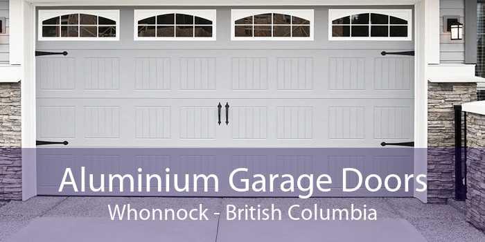 Aluminium Garage Doors Whonnock - British Columbia