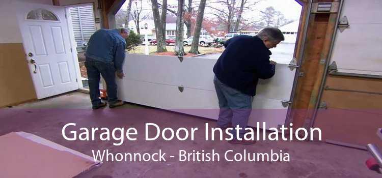 Garage Door Installation Whonnock - British Columbia