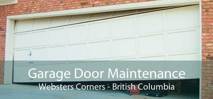 Garage Door Maintenance Websters Corners - British Columbia