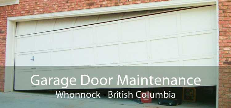 Garage Door Maintenance Whonnock - British Columbia