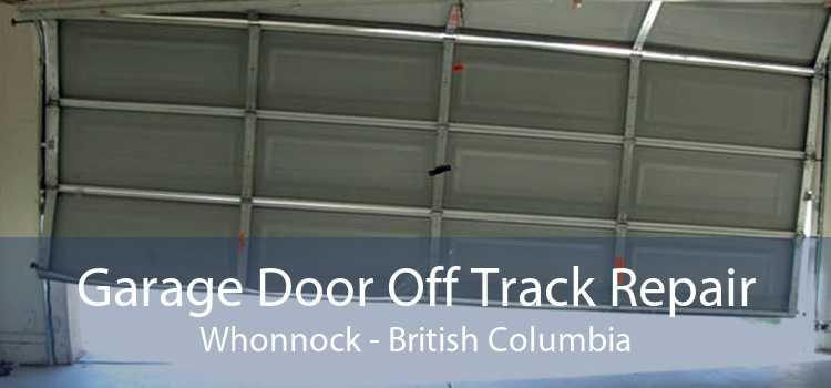 Garage Door Off Track Repair Whonnock - British Columbia