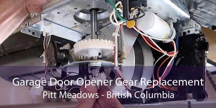 Garage Door Opener Gear Replacement Pitt Meadows - British Columbia