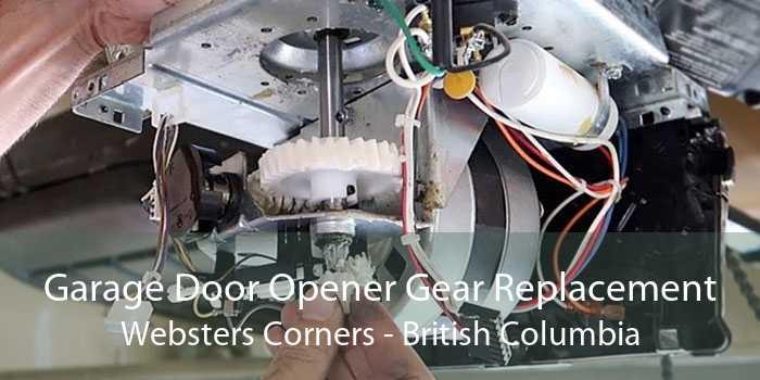 Garage Door Opener Gear Replacement Websters Corners - British Columbia