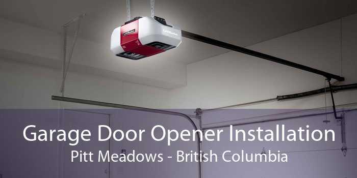 Garage Door Opener Installation Pitt Meadows - British Columbia
