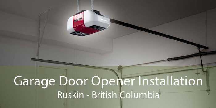 Garage Door Opener Installation Ruskin - British Columbia