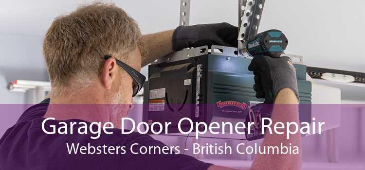 Garage Door Opener Repair Websters Corners - British Columbia