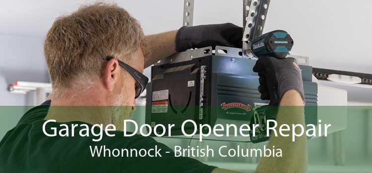 Garage Door Opener Repair Whonnock - British Columbia