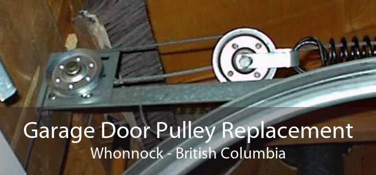 Garage Door Pulley Replacement Whonnock - British Columbia