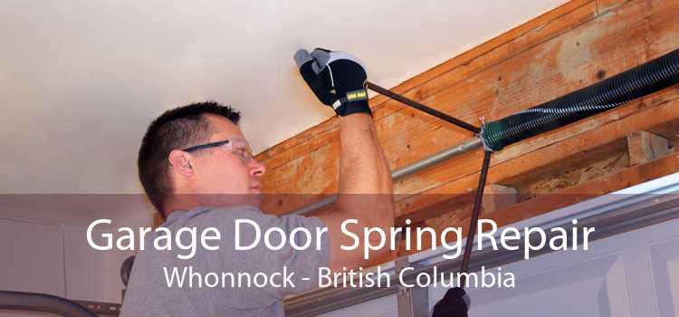 Garage Door Spring Repair Whonnock - British Columbia