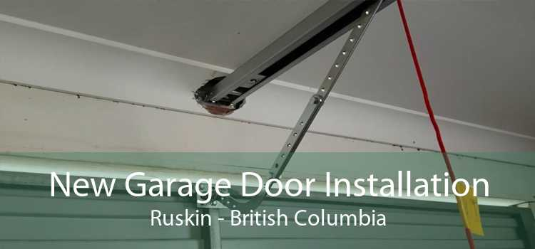 New Garage Door Installation Ruskin - British Columbia