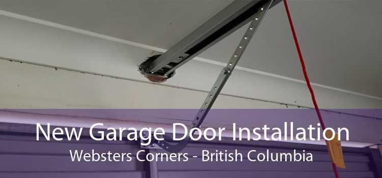 New Garage Door Installation Websters Corners - British Columbia