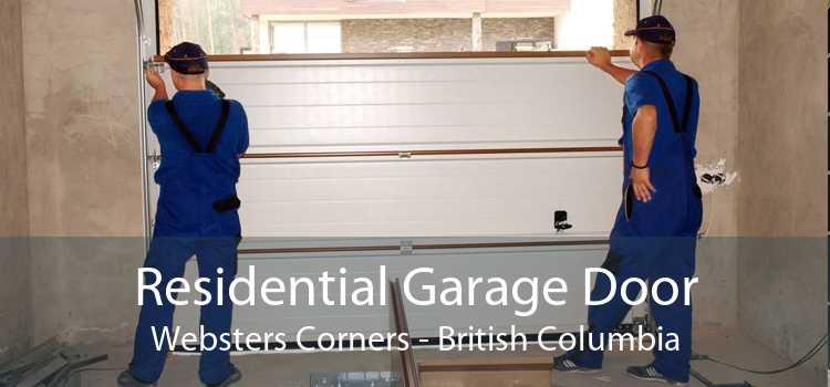 Residential Garage Door Websters Corners - British Columbia