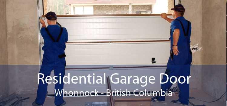 Residential Garage Door Whonnock - British Columbia