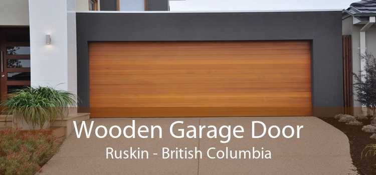 Wooden Garage Door Ruskin - British Columbia