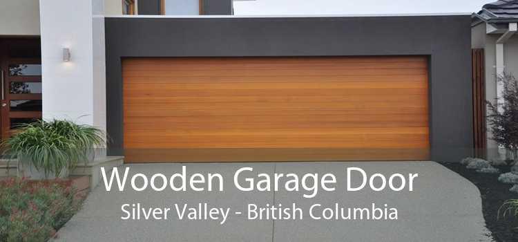 Wooden Garage Door Silver Valley - British Columbia