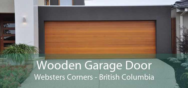 Wooden Garage Door Websters Corners - British Columbia