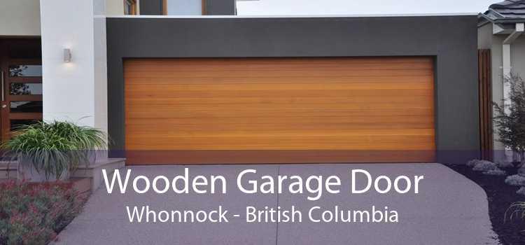 Wooden Garage Door Whonnock - British Columbia